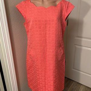 Liz Claiborne Pink Dress Sz 14